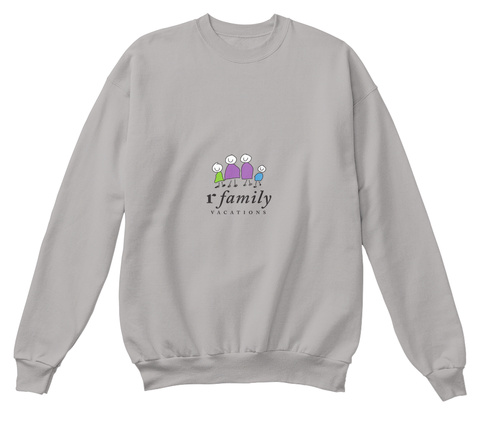 R Family Vacations Official Gear Light Steel  T-Shirt Front