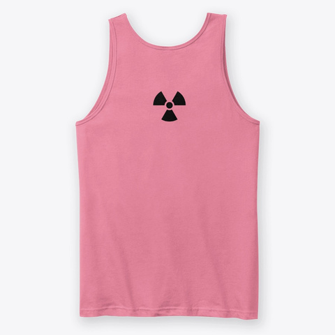 X Ray Neon Pink T-Shirt Back