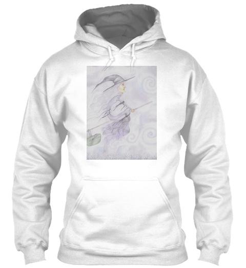 Baby Wont Sleep  White Sweatshirt Front