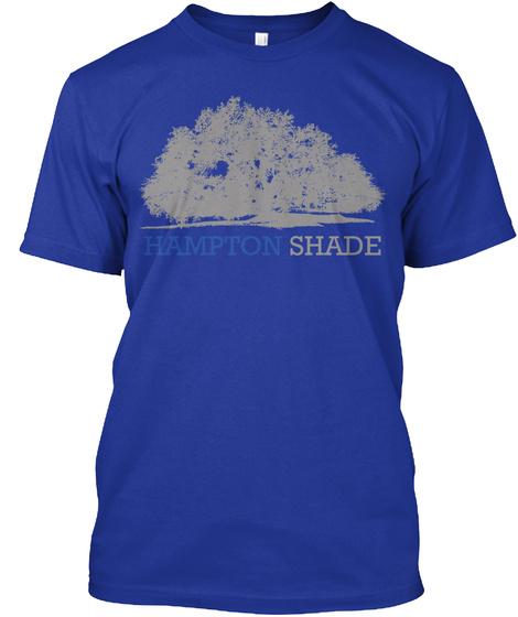 Hampton Shade Lapis T-Shirt Front