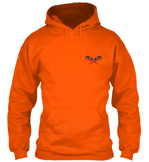 Plumber Hoodie Christmas Special Safety Orange T-Shirt Front