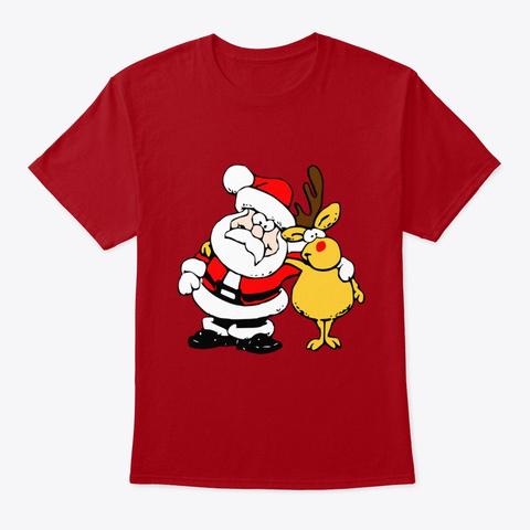 Christmas Besties Deep Red T-Shirt Front