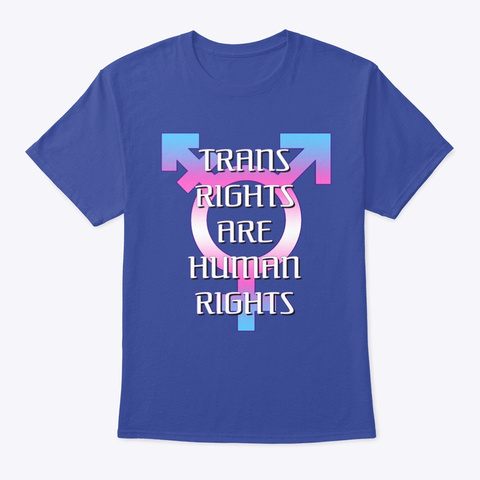 Trahr Deep Royal T-Shirt Front