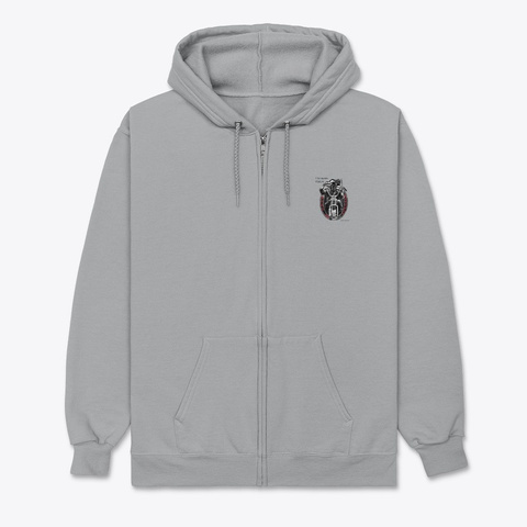 Sapphire Mc Merchandise Light Steel T-Shirt Front
