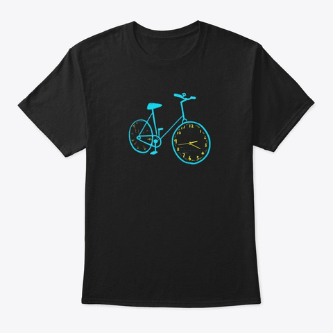 Cycle My Passion   Awesome Tees Black T-Shirt Front