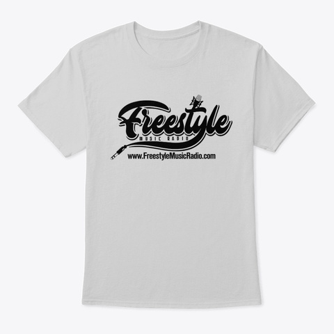 Freestyle Music Radio  Shirts  Light Steel T-Shirt Front