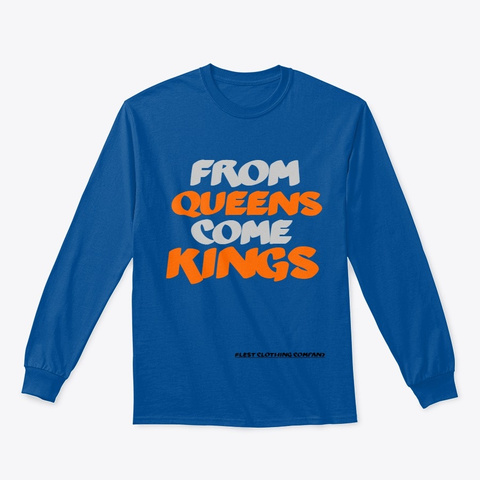 Blest Clothing Company Queens Kings Royal T-Shirt Front