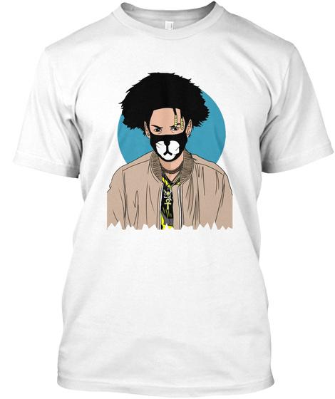 Teo Shmateo Deep T Shirt White T-Shirt Front