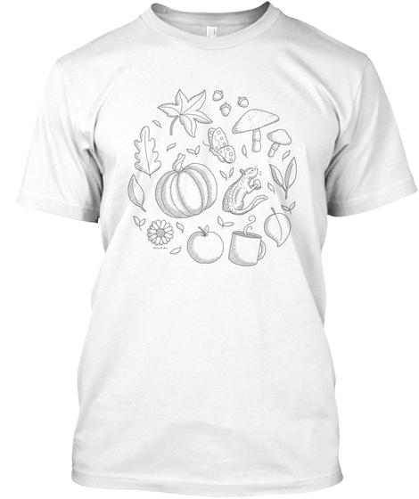 O/I. White T-Shirt Front