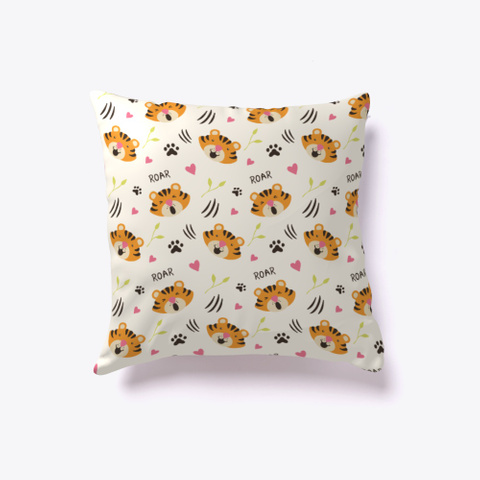 Cute Tiger Pillow Standard T-Shirt Front