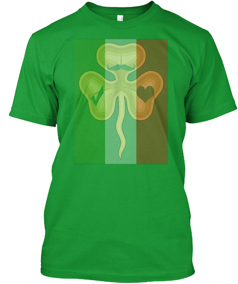 St. Patrick's Day T Shirts Kelly Green T-Shirt Front