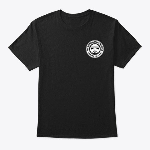 Original Logo Line Black T-Shirt Front