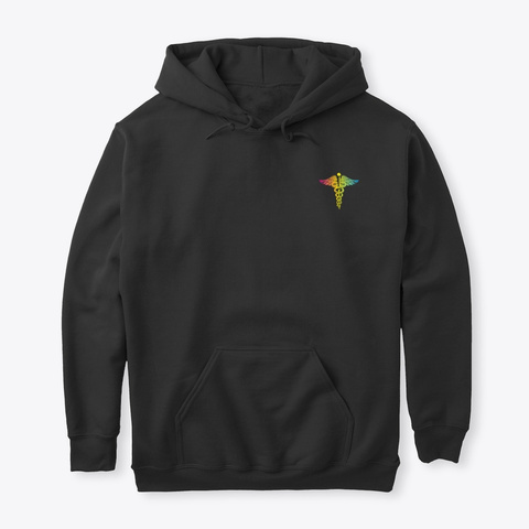Lpn Hoodie Christmas Special Black T-Shirt Front