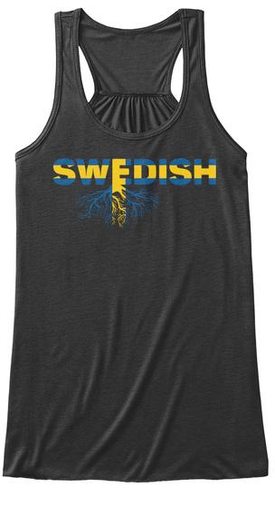 Swedish Shirt. Dark Grey Heather T-Shirt Front