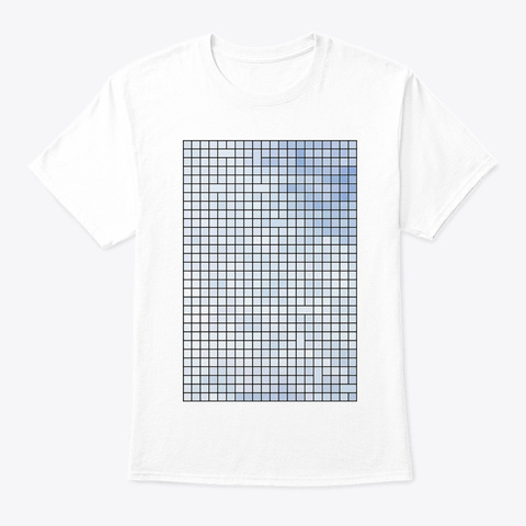 Abstract Art   Air 2 White T-Shirt Front