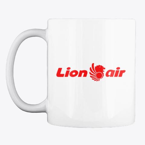 Lion Air   Mug White T-Shirt Front