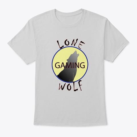 Lone Wolf Logo Light Steel T-Shirt Front