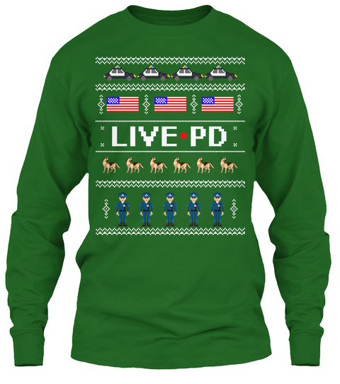 Live Pd Irish Green T-Shirt Front