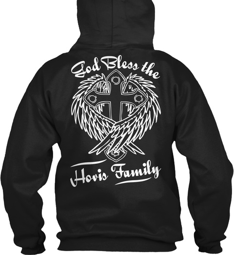 Ble Ss D The O G   Hovis Family   Black T-Shirt Back