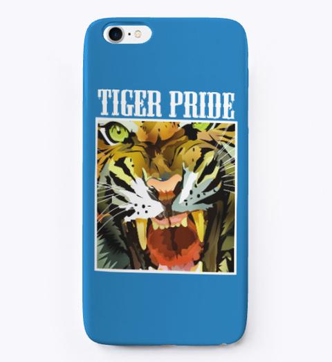 Tiger Pride Denim Blue T-Shirt Front