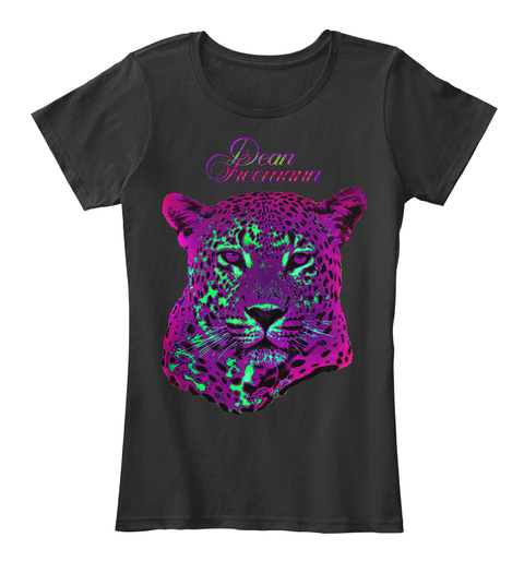 Dean Freemann Fashion Women Black Women's T-Shirt Front
