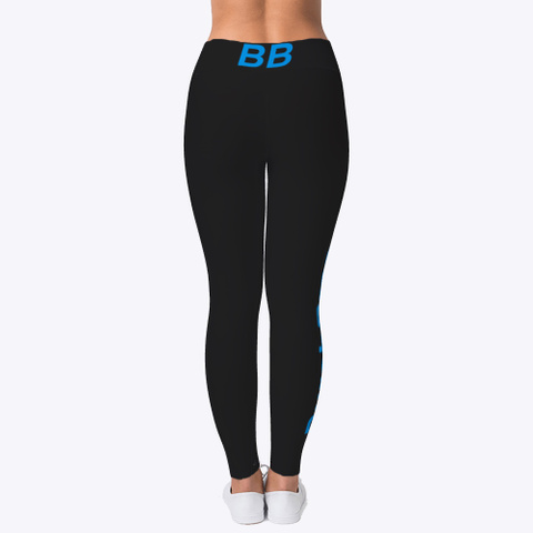 Burch Bros Leggings  Black T-Shirt Back