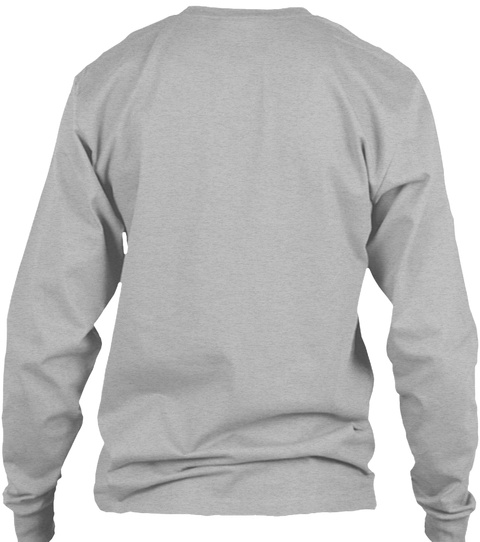 Series 3   Long Sleeve (Usa) Sport Grey T-Shirt Back