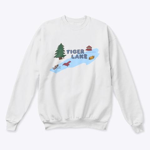 Tiger Lake 2019 White  T-Shirt Front