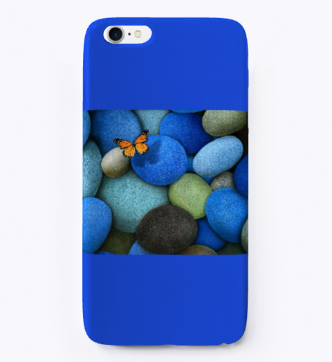 Phone Cases Royal Blue T-Shirt Front