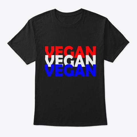 American Colors Black T-Shirt Front