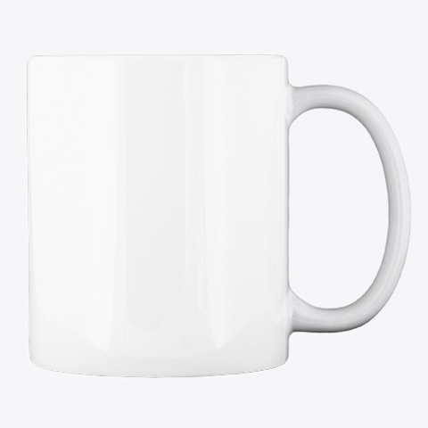 Fresh Mug Of Inspiration! White T-Shirt Back