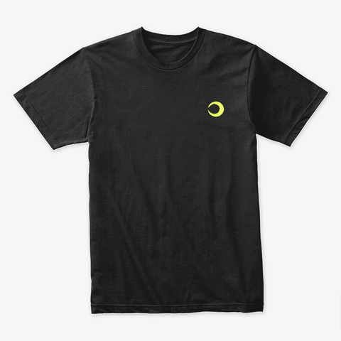 Rad Jesus Black T-Shirt Front