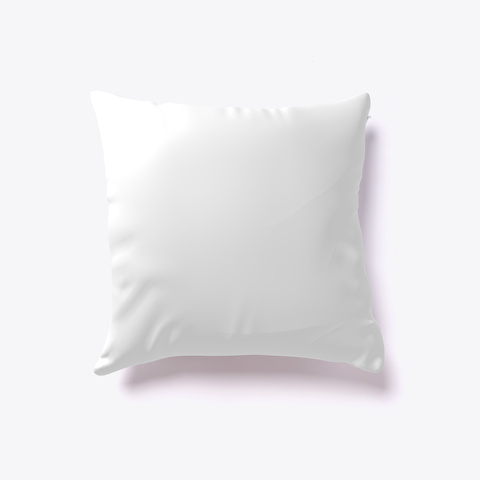 Asian Vanilla Cone Pillow White T-Shirt Back