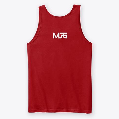 Mjg Do Damage Red T-Shirt Back