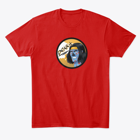 Donka Sh0 W Merch Classic Red T-Shirt Front