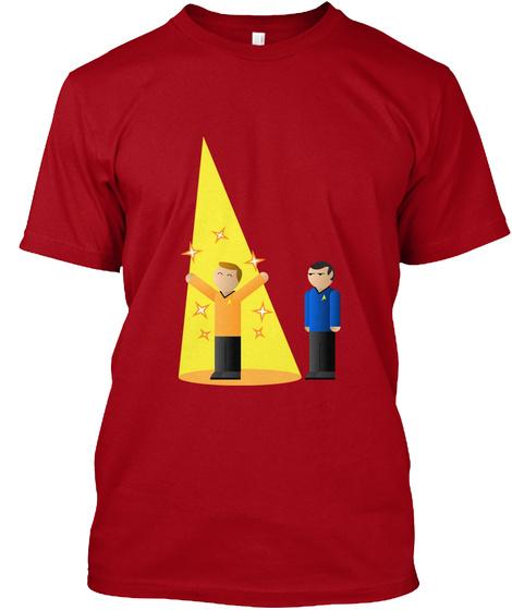 Spotlight T Shirt Deep Red T-Shirt Front