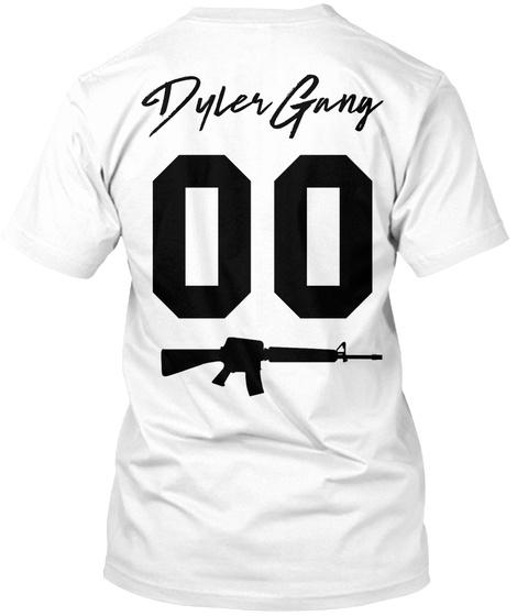 Dyler Gang 00 White T-Shirt Back