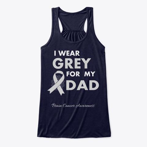 Brain Cancer Awareness Mom Midnight T-Shirt Front