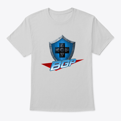 Bgp Logo Shirt Light Steel T-Shirt Front