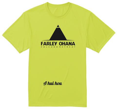 AHuiHou Safety Green T-Shirt Front