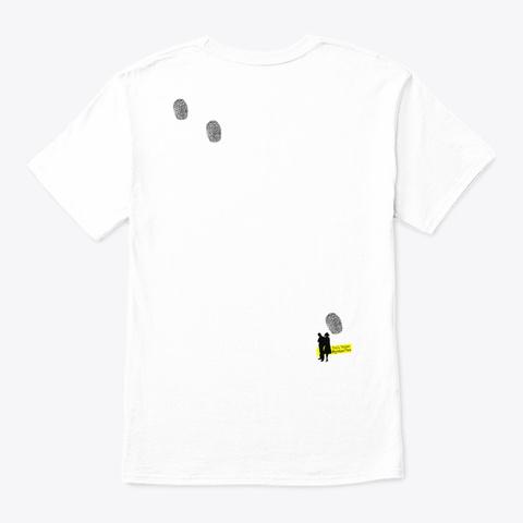 Whodunit Tops White T-Shirt Back