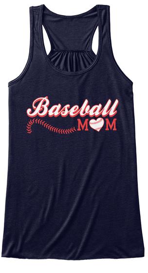 Baseball Mom Midnight T-Shirt Front