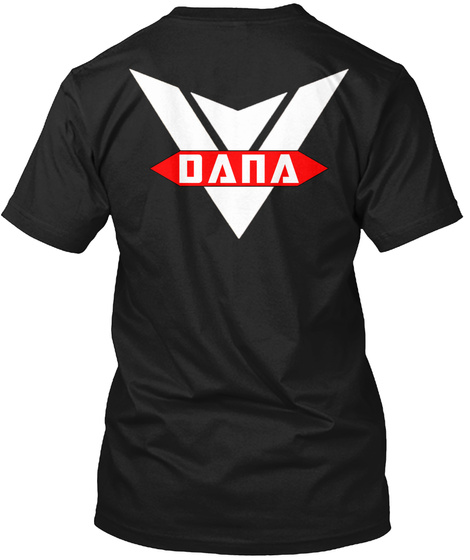 Dana Black T-Shirt Back