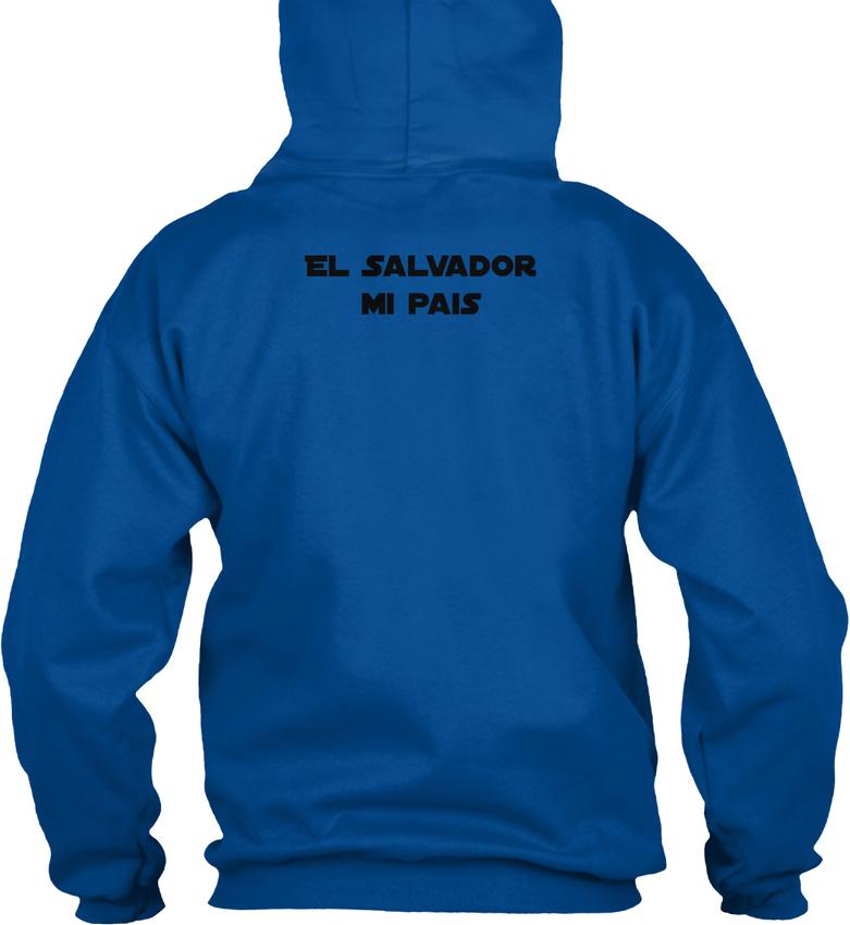 El-Salvador-Mi-Pais-Republica-De-En-La-America-Gildan-Hoodie-Sweatshirt thumbnail 12