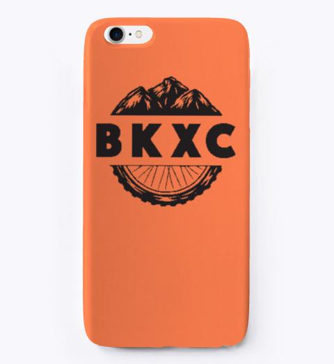 Bkxc Logo Phone Case Coral T-Shirt Front