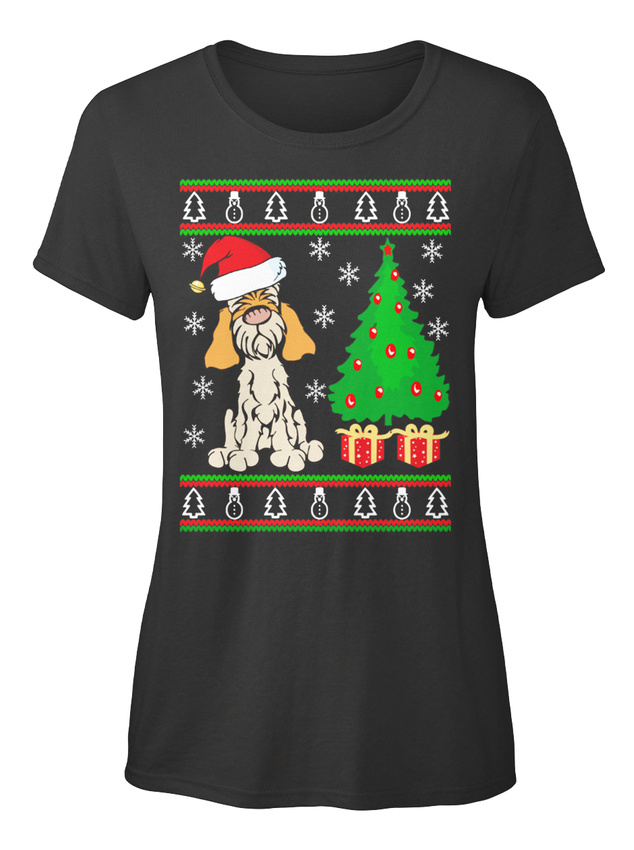 Sensational-Spinone-Italiano-Christmas-Gifts-T-shirt-T-shirt-Elegant-pour-Femme