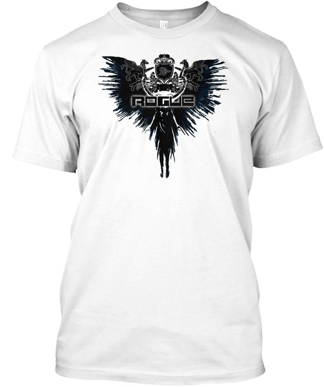 Rogue White T-Shirt Front