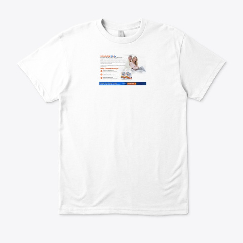 Blualix Review White T-Shirt Front