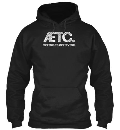 Atheists, Etc. Fashions, Etc. Black T-Shirt Front