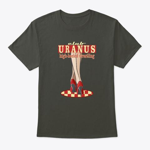 Club Uranus Smoke Gray T-Shirt Front